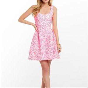 Lilly Pulitzer Pink Fiesta Textures Joslin Dress
